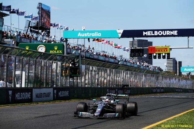 Гран При Австралии. Льюис Хэмилтон
