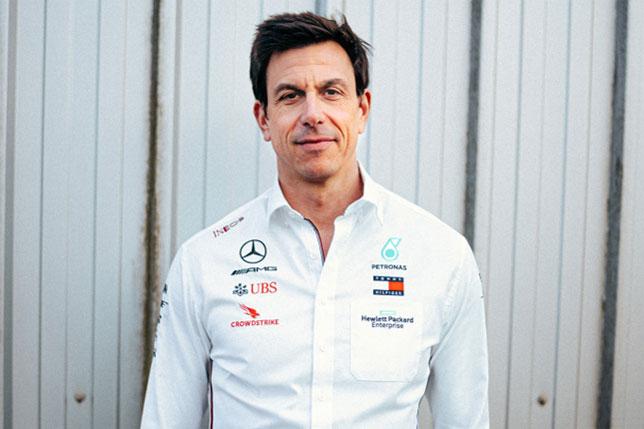 Тото Вольфф (фото пресс-служба Mercedes)