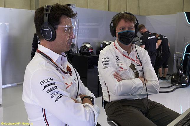 Тото Вольфф и Ола Каллениус на Гран При Австрии