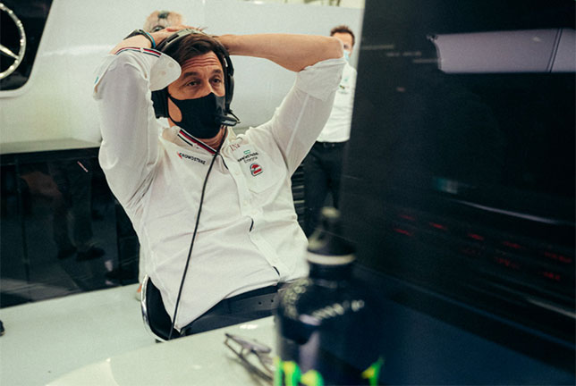 Тото Вольфф, фото пресс-службы Mercedes