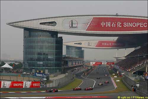 Трасса Гран При Китая, 2008-й год