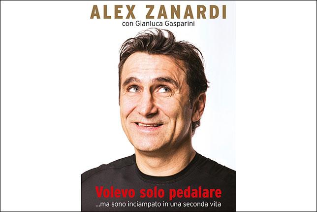 Обложка новой книги Алекса Дзанарди