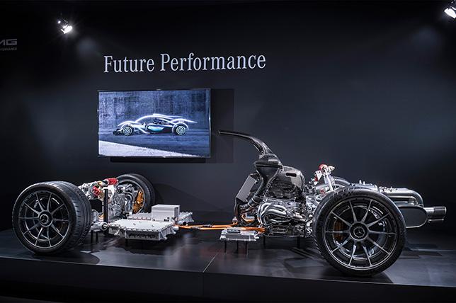 Макет силовой устаровки Porject One, фото Mercedes